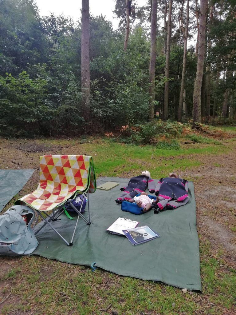 Outdoor First Aid Training in Northumberland