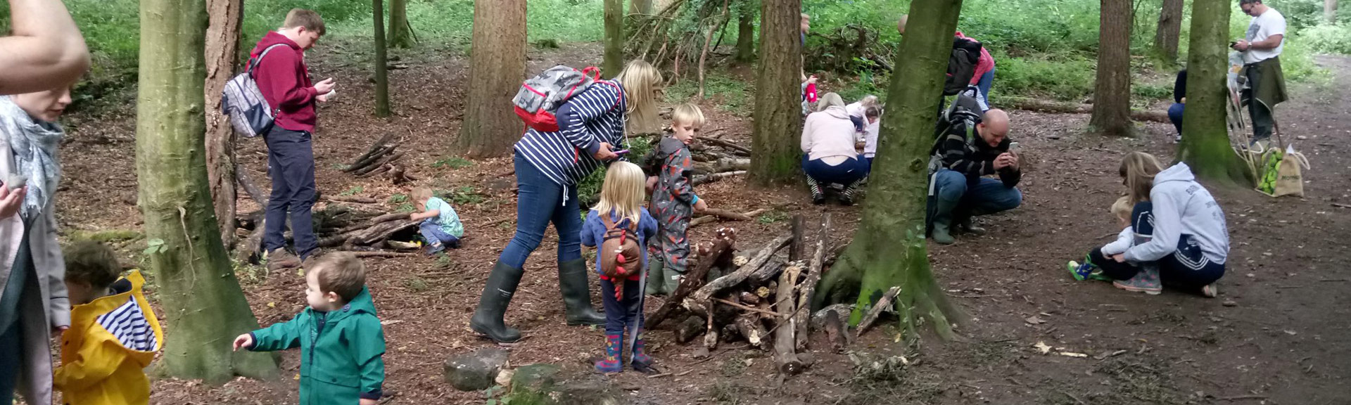 family children woodland events
